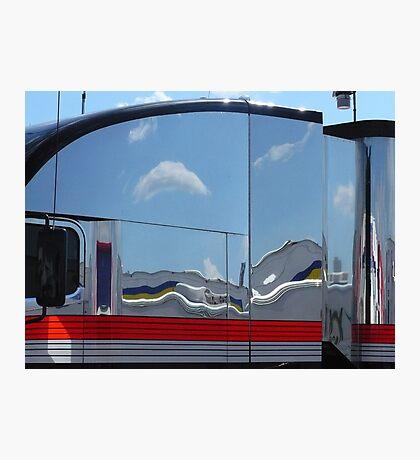 Mirror of Chrome Photographic Print
