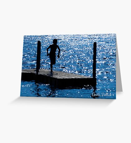 Sparkles and Silhouettes Greeting Card