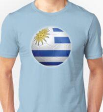 Uruguay - Uruguayan Flag - Football or Soccer 2 T-Shirt