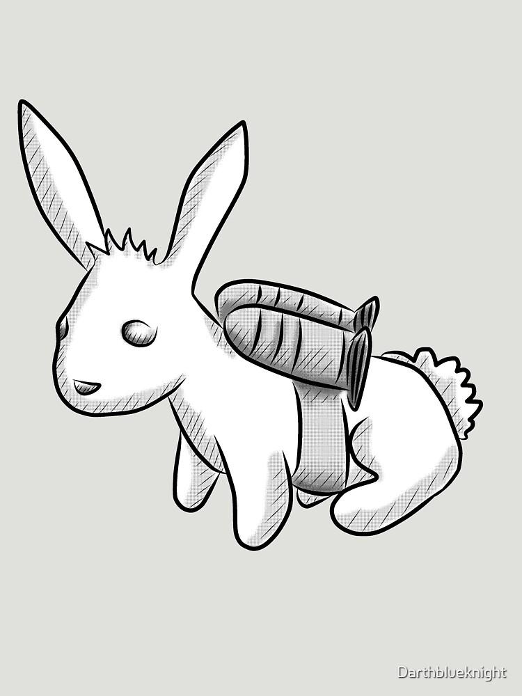 TShirtGifter presents: Rocket Bunny | Unisex T-Shirt