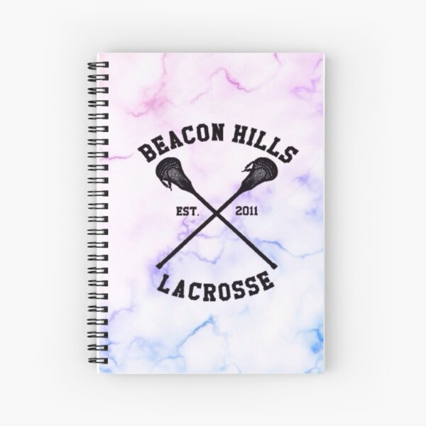 Beacon Hills Lacrosse - Teen Wolf Spiral Notebook