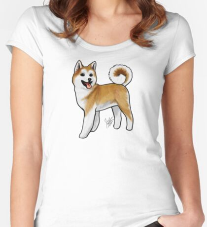 Akita Women's Fitted Scoop T-Shirt