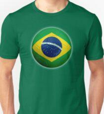 Brazil - Brazilian Flag - Football or Soccer 2 T-Shirt