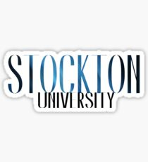 Stockton University Sticker