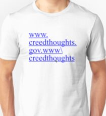 Creed Thoughts Unisex T-Shirt