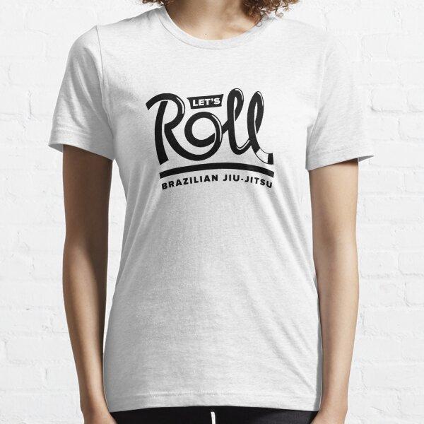 Let's Roll Brazilian Jiu-Jitsu Black Belt Essential T-Shirt