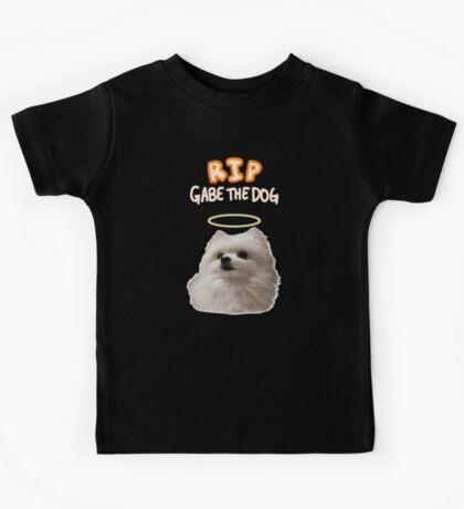 RIP Gabe The Dog 2 Kids Tee