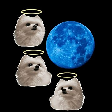RIP Gabe The Doggo moon by Picturelong