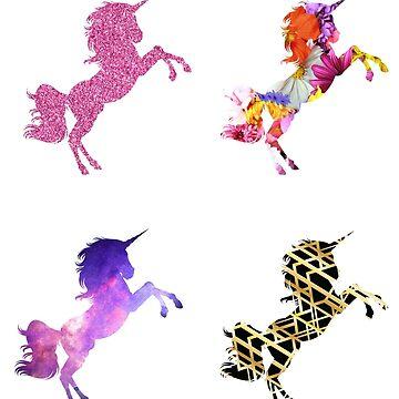 Unicorns by tarrbear