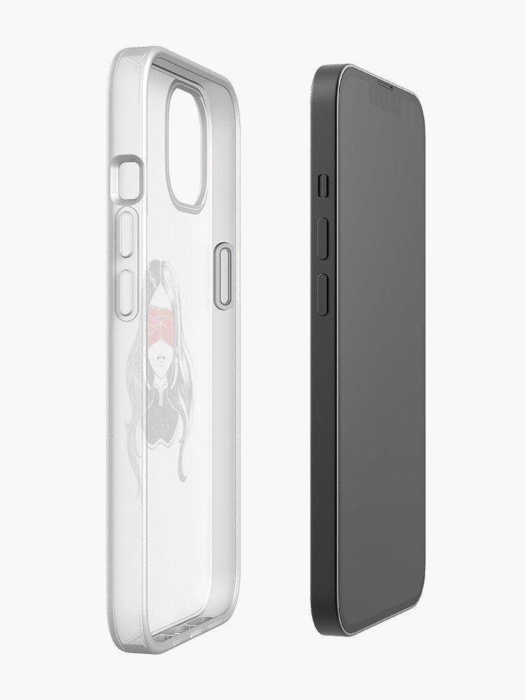 Alternate view of See not iPhone Case