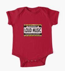 Warning! Loud Music! Kids Clothes