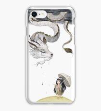 Rain dragon iPhone Case/Skin