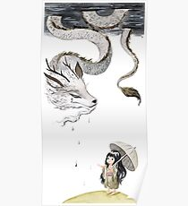 Rain dragon Poster