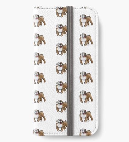 English Bulldog iPhone Wallet