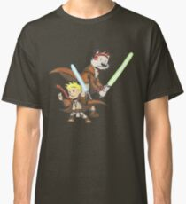 Calvin and Hobbes Star Wars Pals Classic T-Shirt