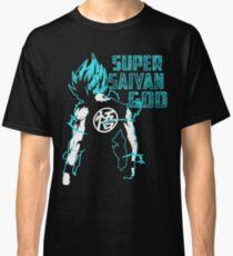 Goku Super Saiyan Blue-16 Classic T-Shirt