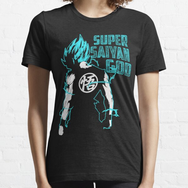 Goku Super Saiyan Blue-16 Essential T-Shirt