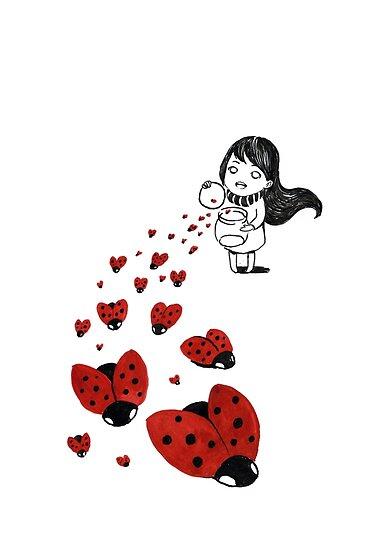 Ladybugs by freeminds