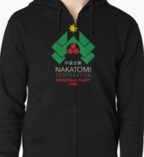 Nakatomi Corporation - Christmas Party Zipped Hoodie