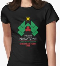 Nakatomi Corporation - Christmas Party Women's Fitted T-Shirt