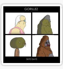 GorilLEZ Sticker