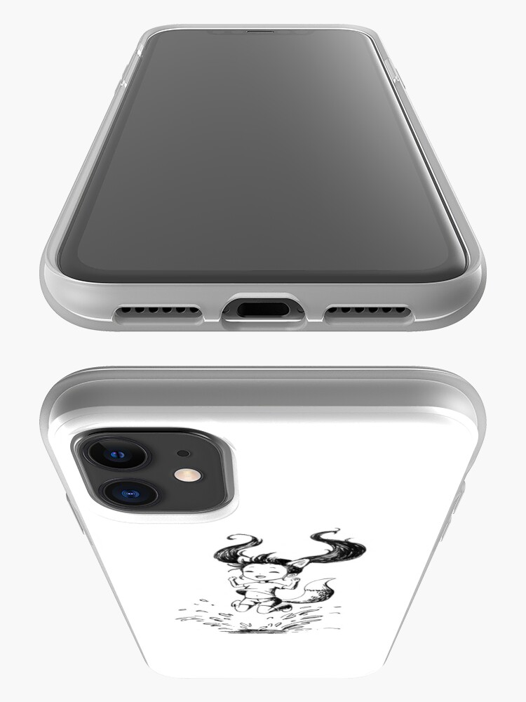 Alternate view of Girl in the puddle iPhone Case & Cover