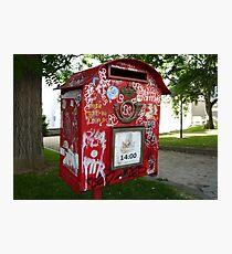 Mailbox Tag Photographic Print