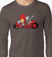 Calvin and Hobbes Akira Anime T-Shirt