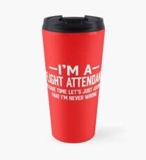 Flight Attendant Travel Mug
