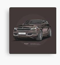 Infiniti FX45 Artrace body-kit Canvas Print