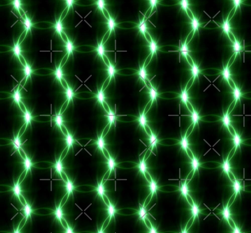 Lens Flare overlap green ring pattern by Liffy En