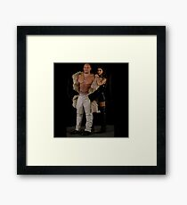 XXX Return Of xander Cage Xander and Serena Framed Print