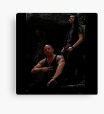 XXX Return Of Xander Cage Xander and Harvard Canvas Print