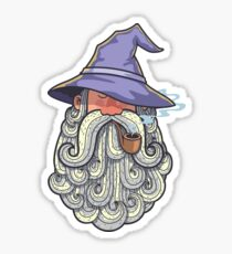 Wizard Portrait 2 Sticker