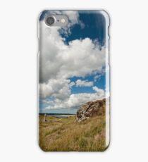 Clouds over Llanddwyn iPhone Case/Skin