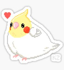 Cockatiel Borb Sticker