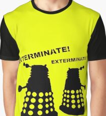Dalek - Doctor Who - Exterminate! Graphic T-Shirt