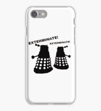 Dalek - Doctor Who - Exterminate! iPhone Case/Skin