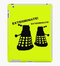 Dalek - Doctor Who - Exterminate! iPad Case/Skin