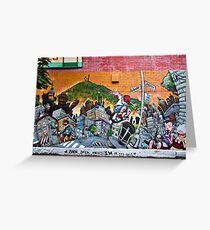 Street Art III Greeting Card
