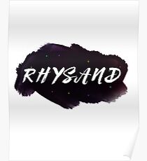 Rhysand: A Court of Thorn and Roses  by Sarah J. Maas Poster