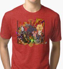 Chinese Zodiac DnD Tri-blend T-Shirt