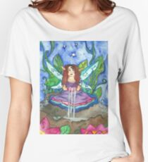 Lotus Fairy Women's Relaxed Fit T-Shirt