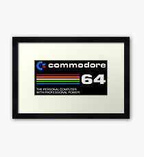 Commodore 64 - personal computer Framed Print