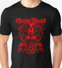 Electric Wizard - Red Unisex T-Shirt