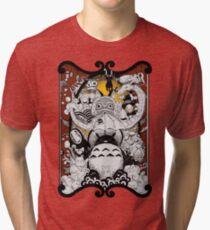 Drawing of Studio Tri-blend T-Shirt