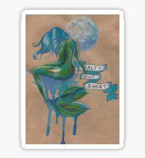 Moon Mermaid Sticker