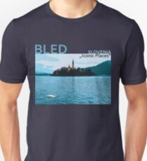 Bled (2) Slovenia - Iconic Places T-Shirt
