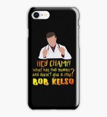 Hey Champ! iPhone Case/Skin