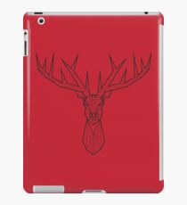 Stag Wire Frame iPad Case/Skin